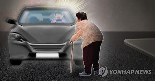 """""""예상 어렵다""""…한밤 도로 보행자 친 운전자에 무죄선고"""